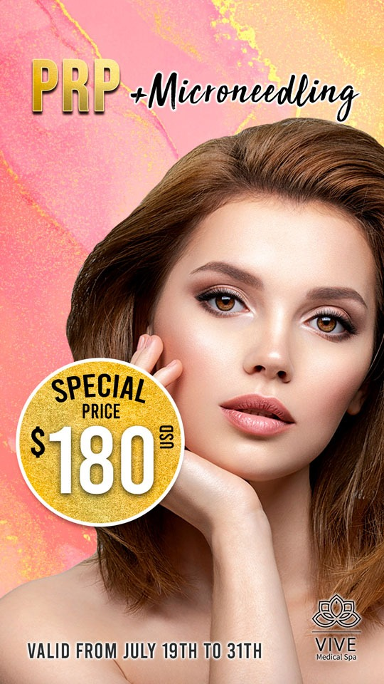 Vive medical spa Special COMBO PRP + Microneedling